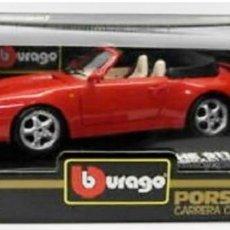 Radio Control: PORSCHE 911 CABRIOLET 1994 (BURAGO). Lote 194160448