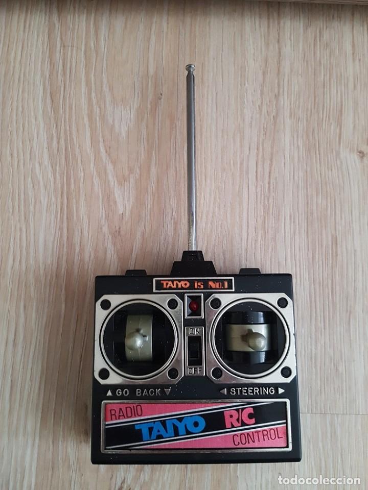 MANDO EMISORA PARA COCHE TAIYO RC AÑOS 80 27MHZ (Juguetes - Modelismo y Radiocontrol - Radiocontrol - Coches y Motos)
