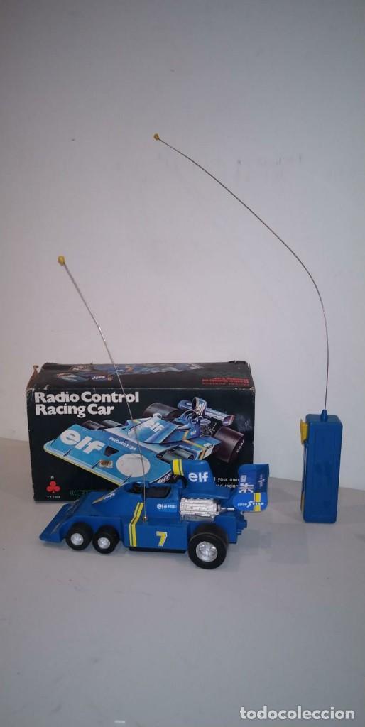 COCHE RADIO CONTROL RACING CAR FORMULA 1. 24,5 X 11,5 CM. CON CAJA. (Juguetes - Modelismo y Radiocontrol - Radiocontrol - Coches y Motos)