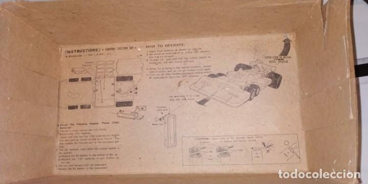 Radio Control: COCHE RADIO CONTROL RACING CAR FORMULA 1. 24,5 X 11,5 CM. CON CAJA. - Foto 10 - 194334288