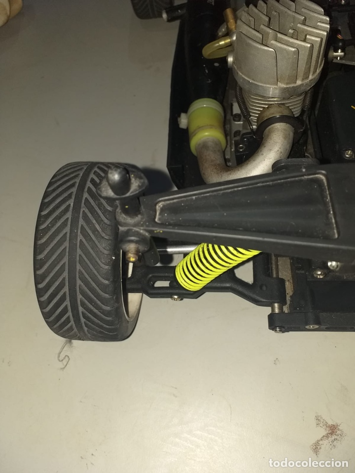 Radio Control: Antiguo Coche radio control gasolina con mando - ver las fotos - Foto 17 - 194354631