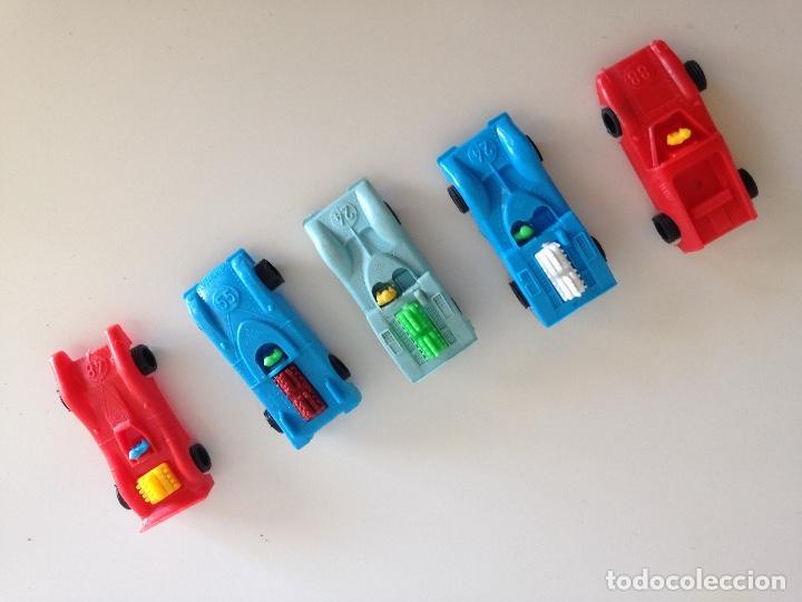 LOTE 5 COCHES DE PLASTICO (Juguetes - Modelismo y Radiocontrol - Radiocontrol - Coches y Motos)