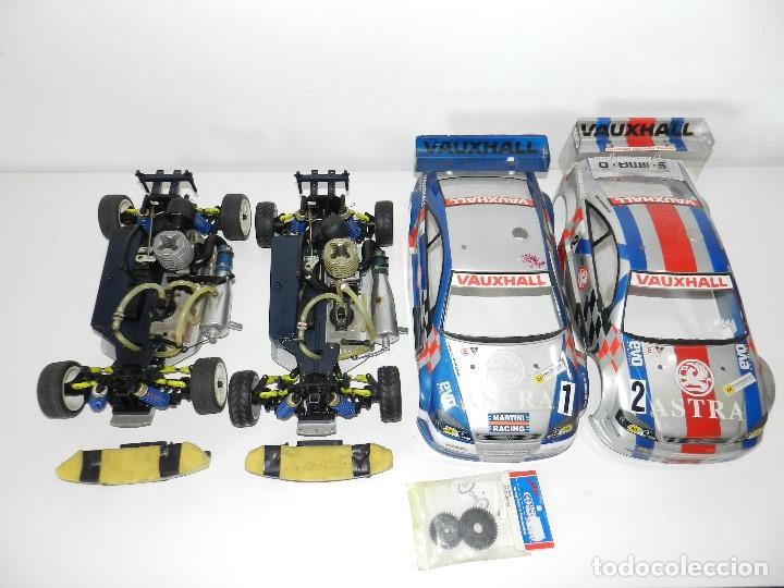 LOTE 2 COCHES KYOSHO 1:10 GP 4WD VAUXHALL ASTRA RC GASOLINA. (Juguetes - Modelismo y Radiocontrol - Radiocontrol - Coches y Motos)