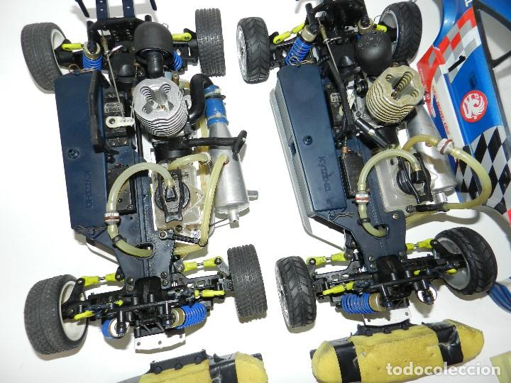 Radio Control: Lote 2 coches Kyosho 1:10 GP 4WD Vauxhall Astra Rc gasolina. - Foto 2 - 195079611