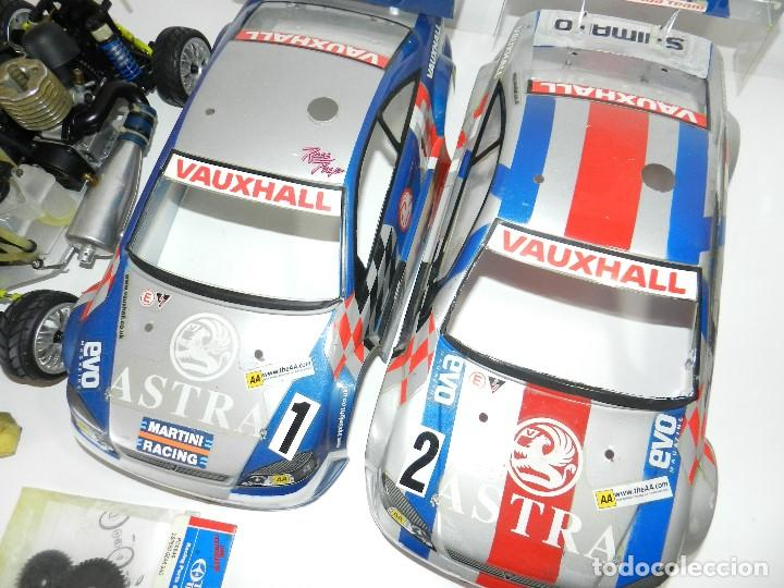 Radio Control: Lote 2 coches Kyosho 1:10 GP 4WD Vauxhall Astra Rc gasolina. - Foto 4 - 195079611