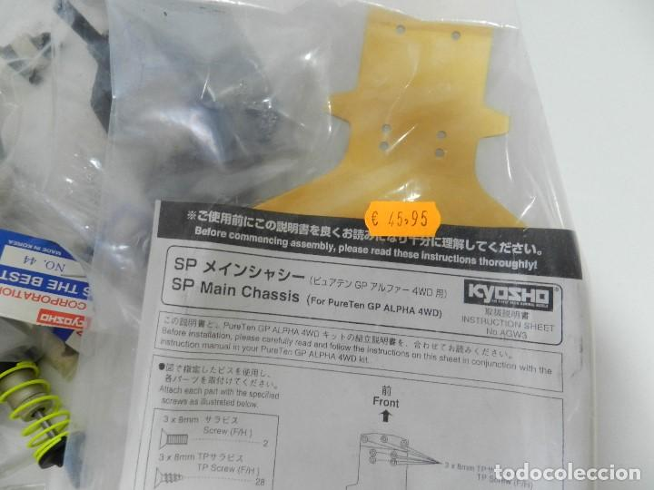 Radio Control: Lote 2 coches Kyosho 1:10 GP 4WD Vauxhall Astra Rc gasolina. - Foto 6 - 195079611