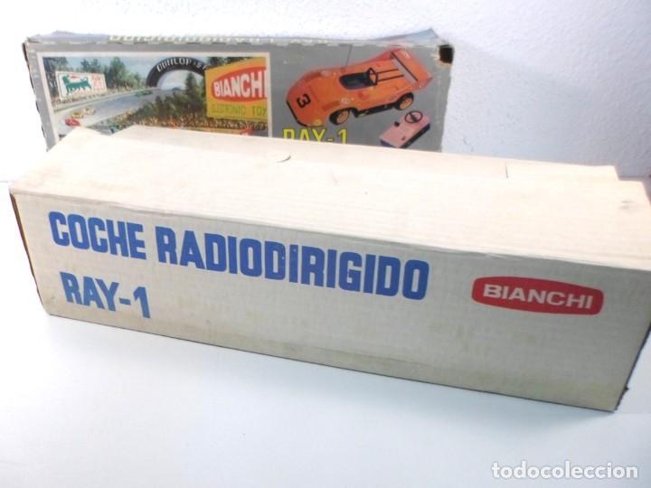 Radio Control: COCHE RAY-1 RADIODIRIGIDO - BIANCHI - CON CAJA ORIGINAL - Foto 7 - 195369162