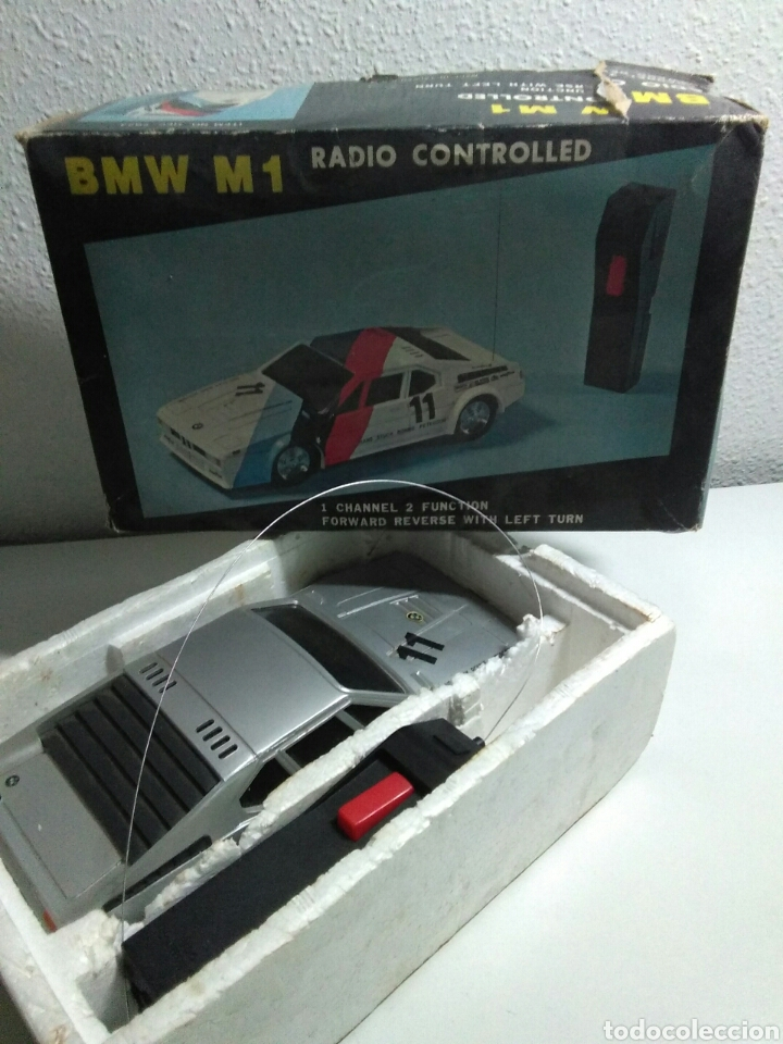 Radio Control: Coche radio control BMW M1 con su caja original - Foto 9 - 195371453