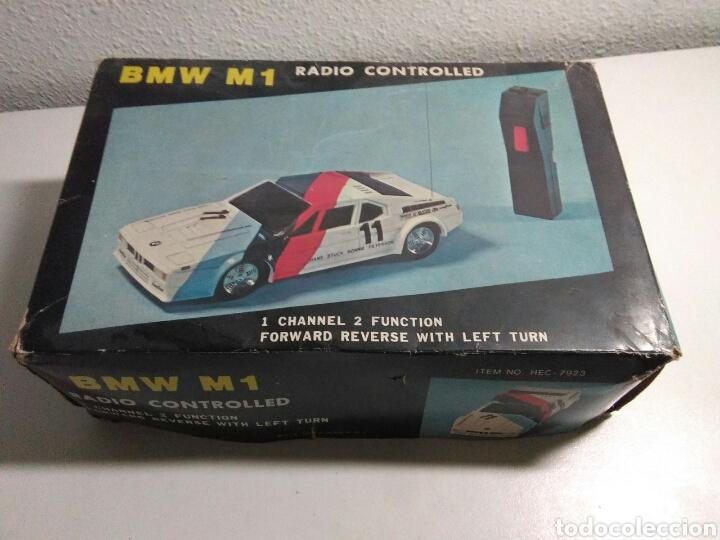 Radio Control: Coche radio control BMW M1 con su caja original - Foto 11 - 195371453