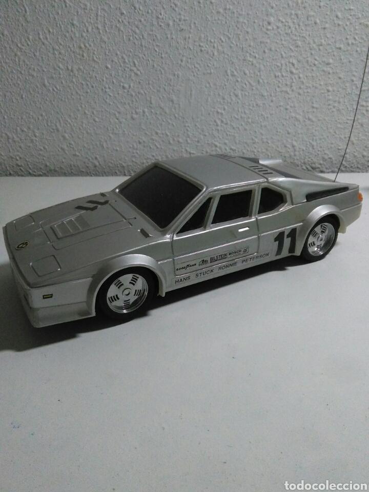 COCHE RADIO CONTROL BMW M1 CON SU CAJA ORIGINAL (Juguetes - Modelismo y Radiocontrol - Radiocontrol - Coches y Motos)