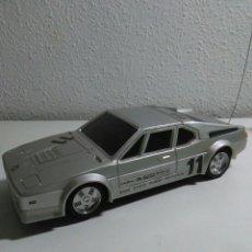 Radio Control: COCHE RADIO CONTROL BMW M1 CON SU CAJA ORIGINAL. Lote 195371453