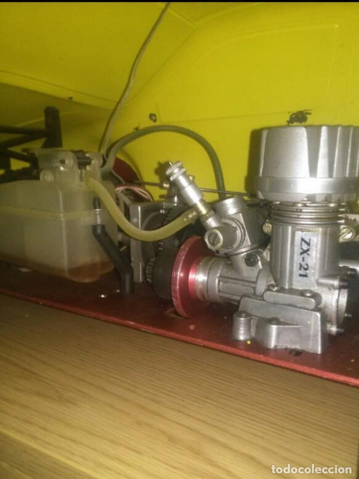 Radio Control: Coche de gasolina preparado para competición - Foto 2 - 199399602