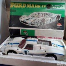 Radio Control: FORD MARK IV DE NACORAL. Lote 199592061