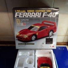 Radio Control: FERRARI F 40 RADIO CONTROL DE ATCOMI. Lote 199649078