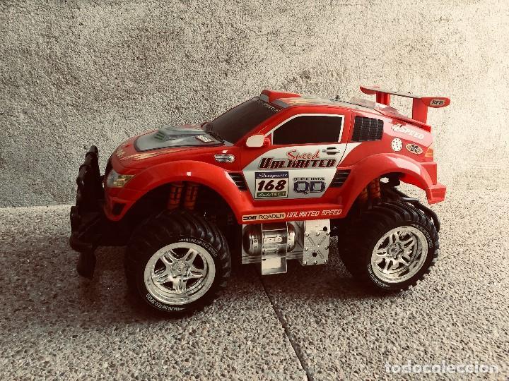 COCHE AUTOMOVIL 4X4 BATERIA ELECTRICA TELEDIRIGIDO NO MANDO MADE CHINA SPEED ARCHI TECT 37X65X37CMS (Juguetes - Modelismo y Radiocontrol - Radiocontrol - Coches y Motos)
