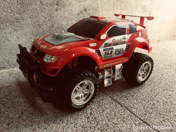 Radio Control: coche automovil 4x4 bateria electrica teledirigido no mando made china speed archi tect 37x65x37cms - Foto 2 - 203966938
