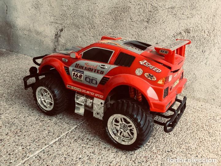 Radio Control: coche automovil 4x4 bateria electrica teledirigido no mando made china speed archi tect 37x65x37cms - Foto 3 - 203966938