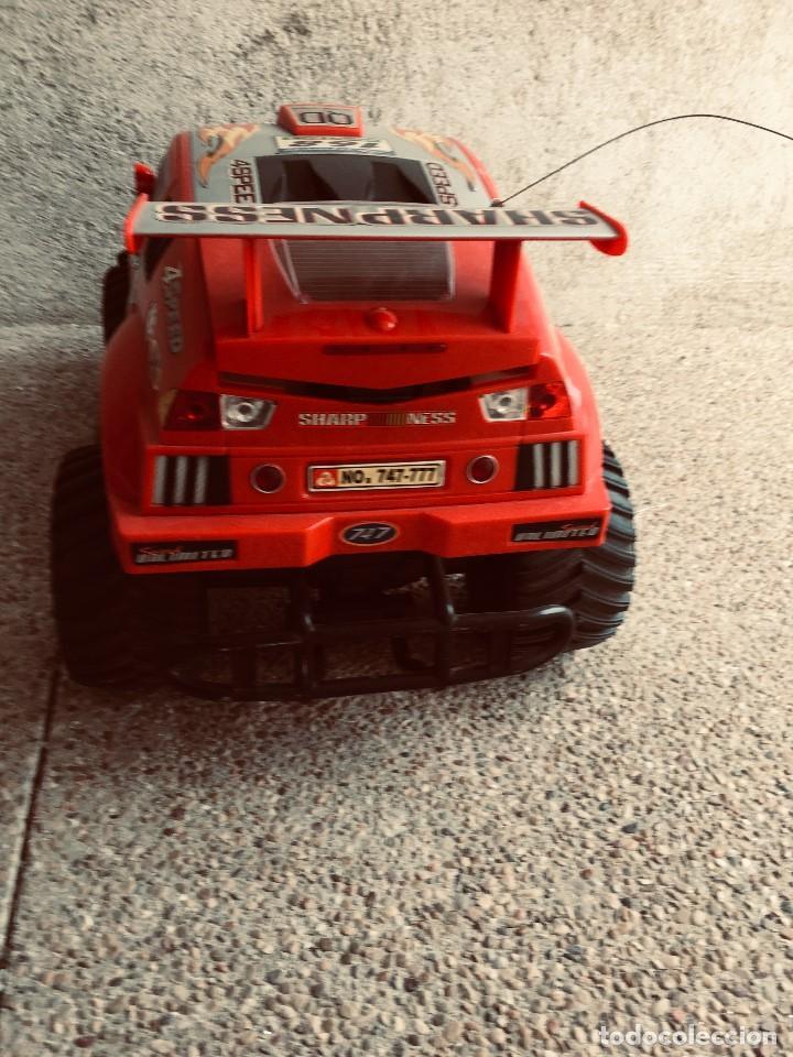 Radio Control: coche automovil 4x4 bateria electrica teledirigido no mando made china speed archi tect 37x65x37cms - Foto 4 - 203966938