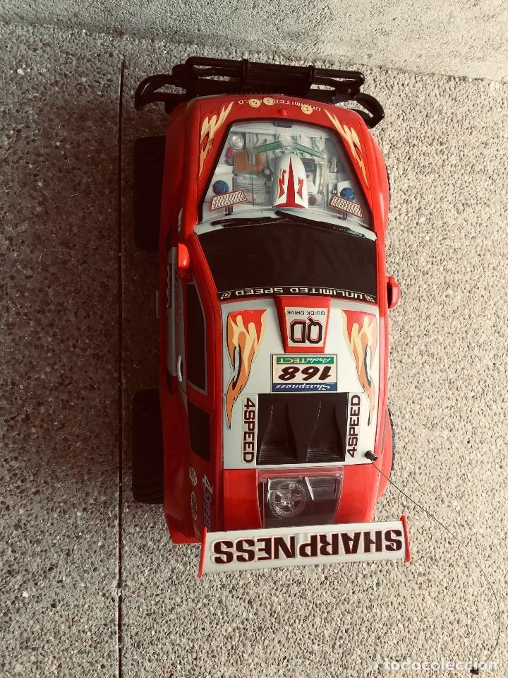 Radio Control: coche automovil 4x4 bateria electrica teledirigido no mando made china speed archi tect 37x65x37cms - Foto 5 - 203966938