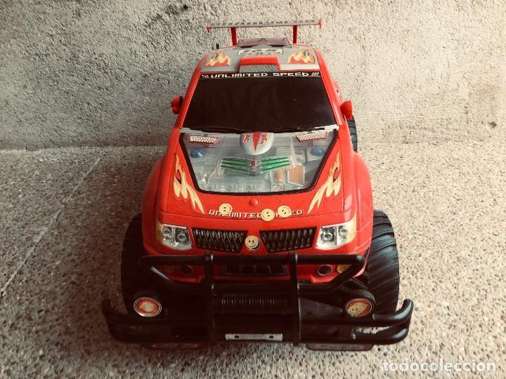 Radio Control: coche automovil 4x4 bateria electrica teledirigido no mando made china speed archi tect 37x65x37cms - Foto 6 - 203966938