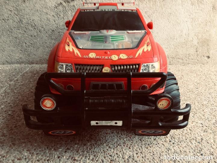 Radio Control: coche automovil 4x4 bateria electrica teledirigido no mando made china speed archi tect 37x65x37cms - Foto 7 - 203966938