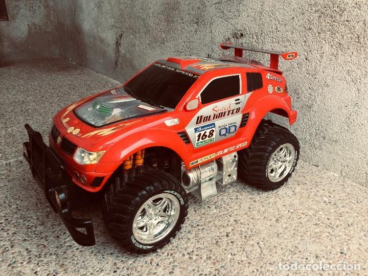 Radio Control: coche automovil 4x4 bateria electrica teledirigido no mando made china speed archi tect 37x65x37cms - Foto 8 - 203966938