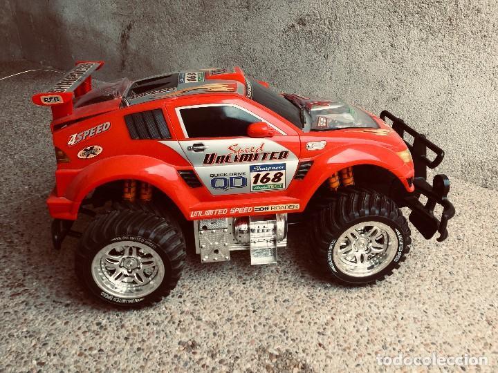Radio Control: coche automovil 4x4 bateria electrica teledirigido no mando made china speed archi tect 37x65x37cms - Foto 10 - 203966938