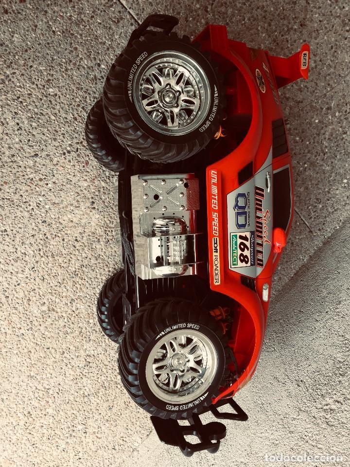 Radio Control: coche automovil 4x4 bateria electrica teledirigido no mando made china speed archi tect 37x65x37cms - Foto 11 - 203966938