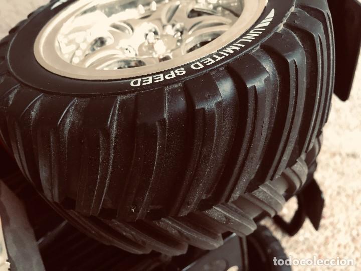 Radio Control: coche automovil 4x4 bateria electrica teledirigido no mando made china speed archi tect 37x65x37cms - Foto 14 - 203966938