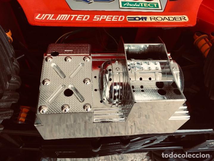 Radio Control: coche automovil 4x4 bateria electrica teledirigido no mando made china speed archi tect 37x65x37cms - Foto 15 - 203966938