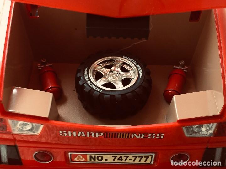 Radio Control: coche automovil 4x4 bateria electrica teledirigido no mando made china speed archi tect 37x65x37cms - Foto 21 - 203966938