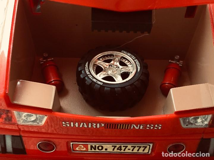 Radio Control: coche automovil 4x4 bateria electrica teledirigido no mando made china speed archi tect 37x65x37cms - Foto 22 - 203966938