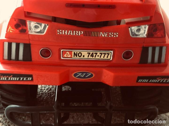 Radio Control: coche automovil 4x4 bateria electrica teledirigido no mando made china speed archi tect 37x65x37cms - Foto 25 - 203966938