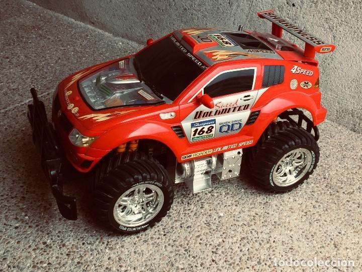 Radio Control: coche automovil 4x4 bateria electrica teledirigido no mando made china speed archi tect 37x65x37cms - Foto 26 - 203966938