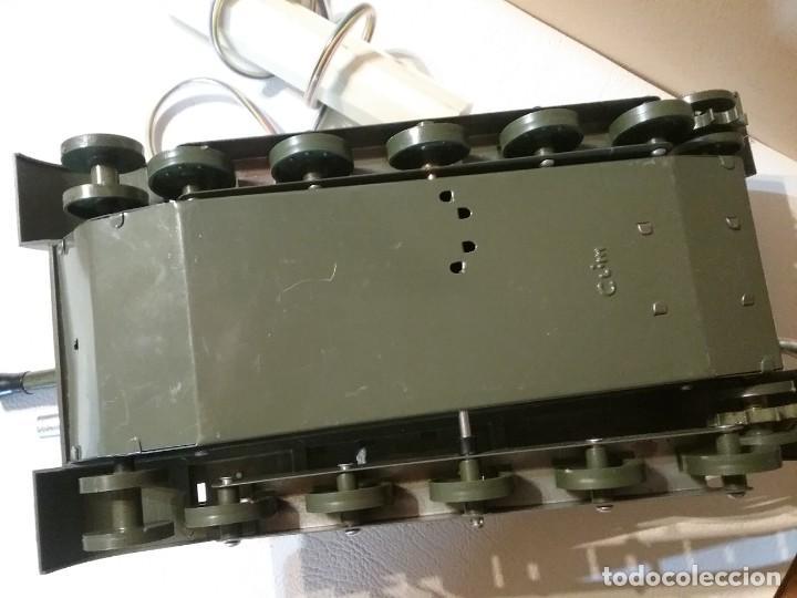 Radio Control: Precioso y antiguo carro de combate tanque de RC años 70 funcionando a la perfeccion. - Foto 10 - 204128433