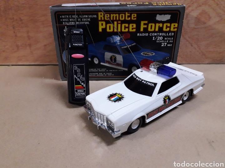 POLICÍA RADIO CONTROL AÑOS 70/80 (Juguetes - Modelismo y Radiocontrol - Radiocontrol - Coches y Motos)