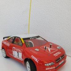 Radio Control: CITROËN XSARA KIT CAR MOTOR DE GASOLINA. RALLYE DU VAR. 1/10. A ESTRENAR!!! SALVAT. 2003.. Lote 205000370