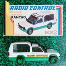 Radio Control: TALBOT MATRA RANCHO - RADIO~CONTROL - JUGUETES 33 - AÑOS 80 - CAJA ORIGINAL - FUNCIONA EN PARTE. Lote 205580243