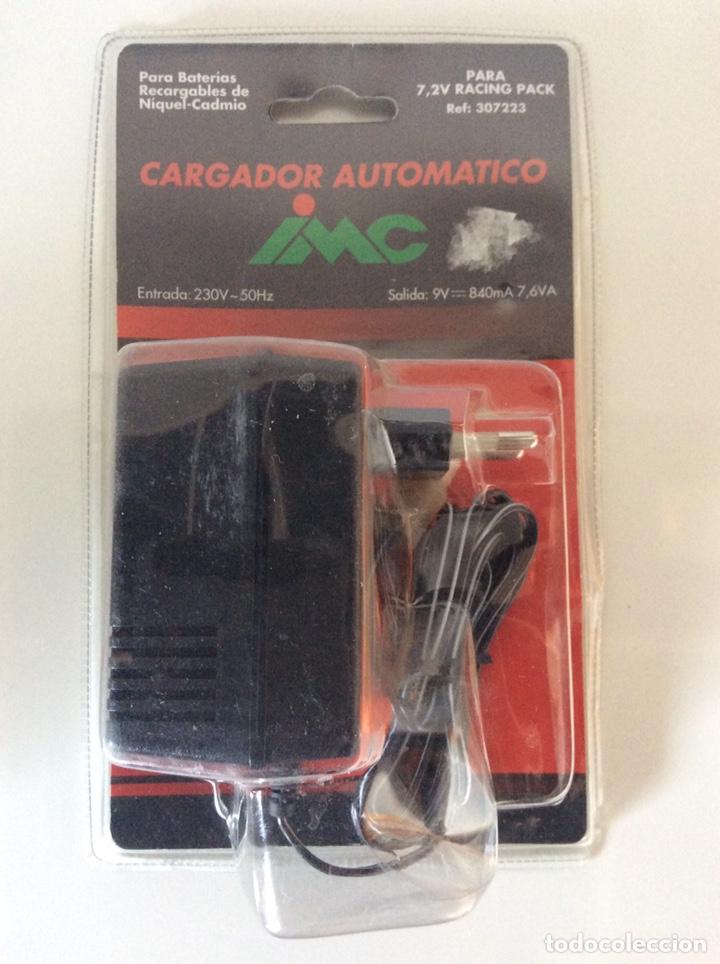 CARGADOR IMC BATERÍAS DE COCHE REF.307223 9V- 840MA 7,6VA NUEVO RACING PACK (Juguetes - Modelismo y Radiocontrol - Radiocontrol - Coches y Motos)