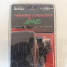 Radiocommande: CARGADOR IMC BATERÍAS DE COCHE REF.309616 11,5V 840MA 9,6VA NUEVO RACING PACK. Lote 236916220