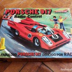 Radio Control: PORSCHE 917 RADIO CONTROL. JUGUETES PACTRA. FINALES AÑOS 70. Lote 207652946