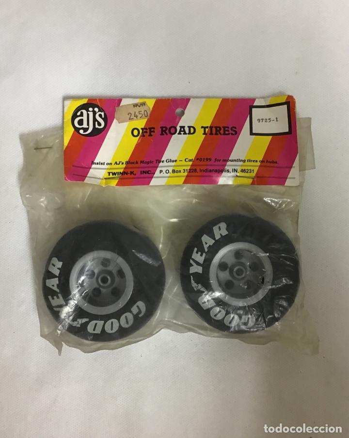 AJ'S 9725-1,RUEDAS AÑOS 80 (Juguetes - Modelismo y Radiocontrol - Radiocontrol - Coches y Motos)