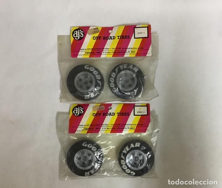 AJ'S 0203-1, RUEDAS AÑOS 80 (Juguetes - Modelismo y Radiocontrol - Radiocontrol - Coches y Motos)