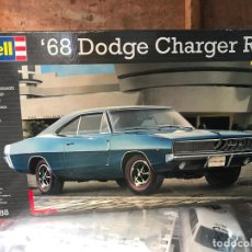 Radio Control: MAQUETA DOGDE 68 CHARGER COMPLETA - REVELL. Lote 289242263