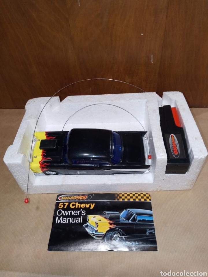 Radio Control: COCHE CHEVROLET CHEVY 57 POWER COMMAND BARRIS 1979 - Foto 6 - 217429203
