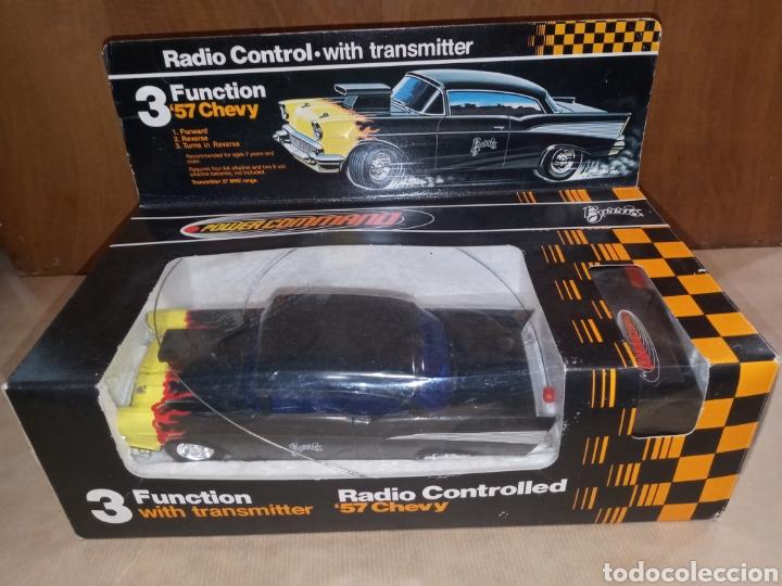 COCHE CHEVROLET CHEVY 57 POWER COMMAND BARRIS 1979 (Juguetes - Modelismo y Radiocontrol - Radiocontrol - Coches y Motos)