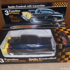 Radio Control: COCHE CHEVROLET CHEVY 57 POWER COMMAND BARRIS 1979. Lote 217429203