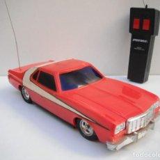 Radio Control: COCHE RADIO CONTROL STARSKY & HUTCH - FORD GRAN TORINO - 1977 GALOOB.. Lote 218969055