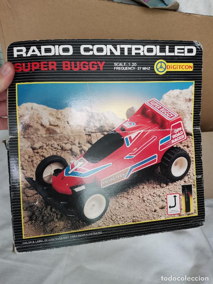 Radio Control: RAREZA COLECCIONISTAS AÑOS 80 COCHE TELEDIRIGIDO RADIO CONTROL SUPER BUGGY DIGITCON - Foto 6 - 219900501