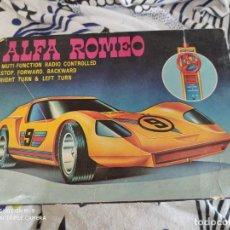 Radio Control: ALFA ROMEO RADIO CONTROL AÑOS 70.FUNCIONA.. Lote 221419033